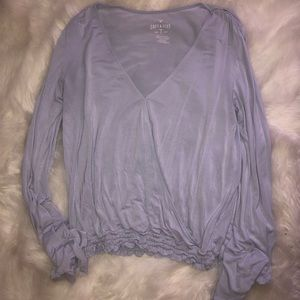 Bell sleeve American Eagle blouse